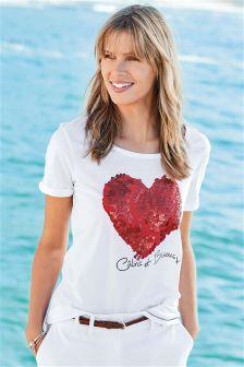 T-shirt Calins Et Bisous avec graphique