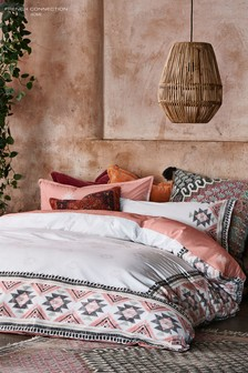 French Connection Sante Fe Duvet Cover and Pillowcase Set
