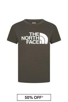 The North Face Khaki Cotton T-Shirt