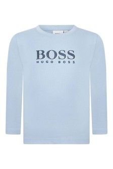 Boys Long Sleeve Cotton Jersey T-Shirt