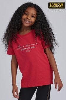 Barbour® International Girls Delta T-Shirt