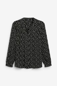 Gathered Yoke Shirt