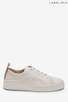 Mix/Hudson White Sierra Trainers