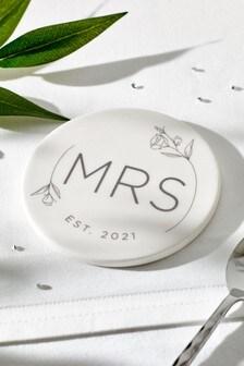 Wedding Mrs Coaster