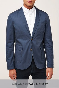 Slim Fit Deconstructed Slim Fit Blazer