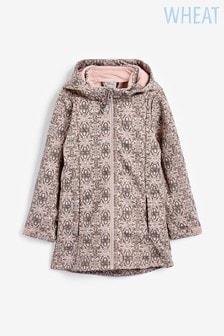 Wheat Pink Softshell Frozen Long Jacket