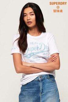 Superdry Real Originals Mock Denim T-Shirt