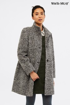 White Stuff Kenley Bouclé Coat