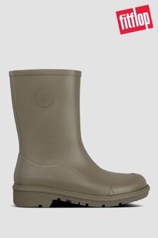 FitFlop™ Green Wonderwelly Short Wellington Boots
