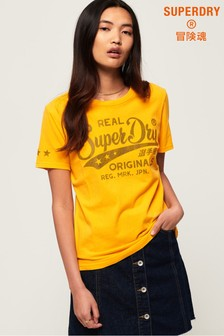 Superdry Real Originals Mock Denim T-Shirt