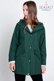Seasalt Green River Sea Coat