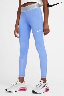 Nike Blue Warm Pro Leggings