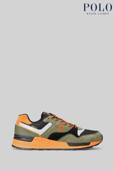 Polo Ralph Lauren Multi Trackster Pony Suede Trainers