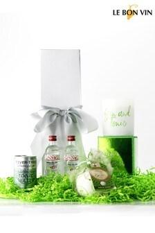 Le Bon Vin Gin Bath Bomb And Candle Gift Set