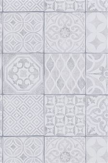 Paste The Wall Painted Tiles Wallpaper Sample