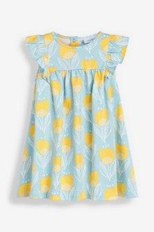 Floral Print Dress (0mths-2yrs)