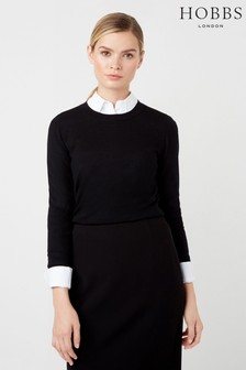 Hobbs Black Penny Sweater