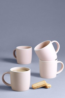 Set of 4 Hutton Mugs