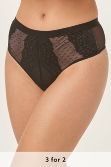 Caged Lace Knickers