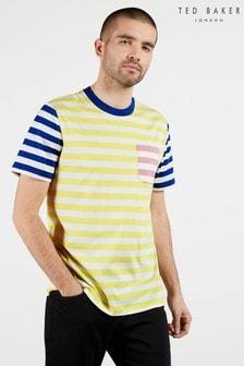 Ted Baker Yasaid Multi Stiriped T-Shirt