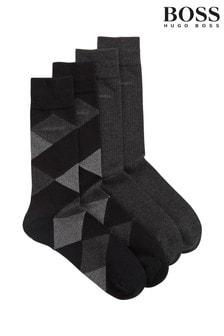 BOSS Black Diamonds Socks Two Pack