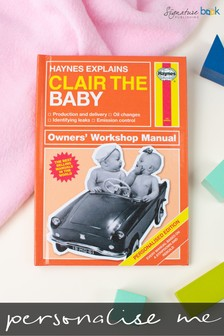 Personalised Novelty New Parents Manual by Signature Book Publishing