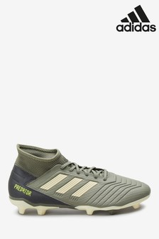 adidas Khaki Legacy Predator Firm Ground Football Boots