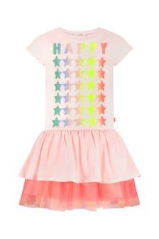 Billie Blush Girls Pink Dress