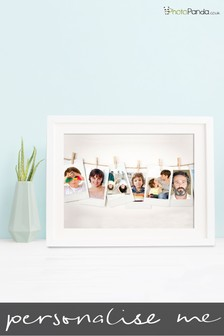 "Personalised Polaroid Framed Print 10x8"" by Photo Panda"