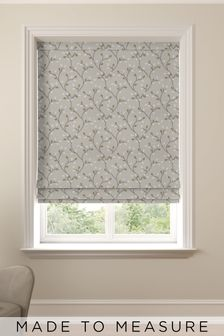 Neisha Linen Natural Made to Measure Roman Blind