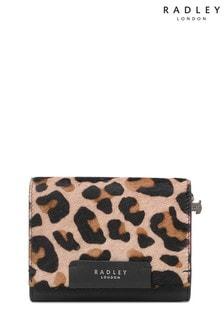 Radley London Arlington Court Mittelgroße Börse in Leoparden-Optik mit Umschlagklappe