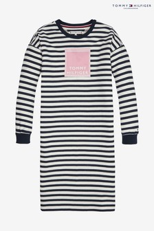 Tommy Hilfiger Nautical Stripe Sweatshirt Dress