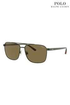 Polo by Ralph Lauren Brow Bar Sunglasses