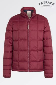 FatFace Red Mountain Hill Padded Jacket