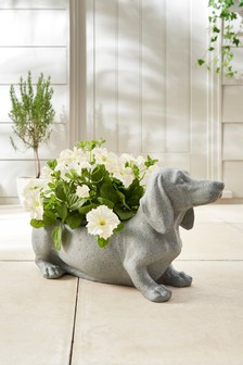 Sausage Dog Planter