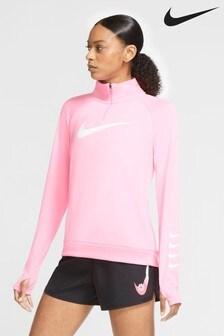 Nike Swoosh 1/2 Zip Running Sweat Top