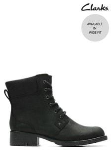 Clarks Black Orinoco Spice Boots