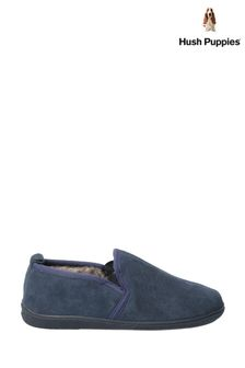 Hush Puppies Blue Arnold Slippers