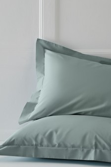 Set of 2 Cotton Rich Pillowcases