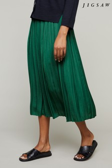 Jigsaw Crocus Drape Skirt