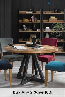 Indus Circular Dining Table by Bentley Designs