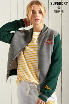Superdry Collegiate Scripted Baseball Bomber Jacket