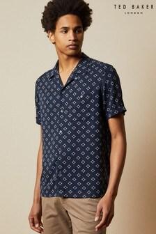 Ted Baker Hedstan Revere Collar Shirt