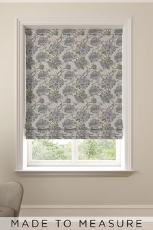 Cassandra Nordic Green Made To Measure Roman Blind