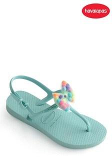 Havaianas® Kids Freedom Pom Pom Flip Flops