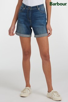 Barbour® Coastal Stretch Denim Maddison Shorts