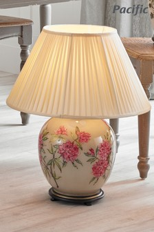 Jenny Worrall Butterflies Small Glass Table Lamp by Pacific Lighting