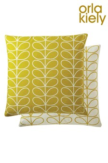 Orla Kiely Linear Stem Geo Cotton Square Cushion