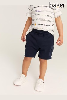 Baker by Ted Baker Navy Cargo Shorts
