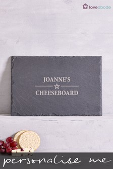 Personalised Slate Cheeseboard by Loveabode